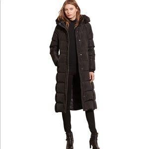 Lauren Ralph Lauren Faux-Fur Puffer Maxi Down Coat